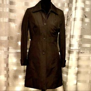 Kenneth Cole REACTION Coat w/ Middle Detai…